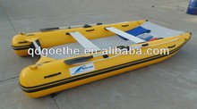 2016 CE certificate and PVC hull inflatable catamaran