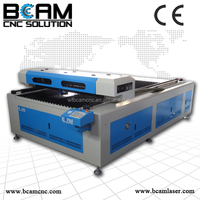High efficiency CO2 laser cutting machine for metal sheet /rubber/plastic sheet/farbic