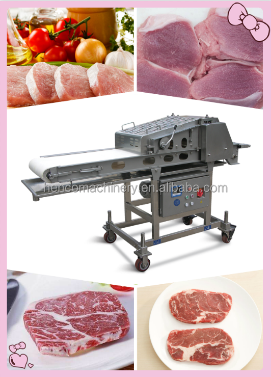 Machine to Flatten Meat Beef for Big Restaurant and Food Factory