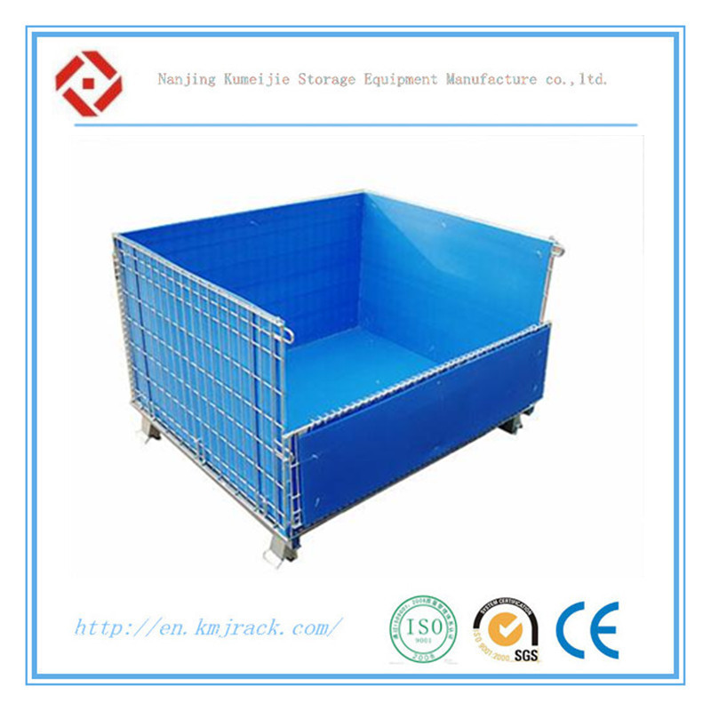 Warehouse in China Forkliftable Wire Mesh Bulk Container
