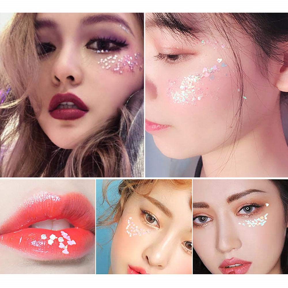 Wholesale body glitter glue Cosmetic shine moonshine body glitter for face and body hair roots glitter