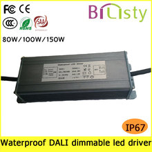 Power line communication dimmable waterproof led driver