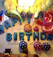 free shipping 40inch 30 inch available letter alphabet foil balloon