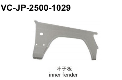 For jeep 2500 vc-jp-2500-1029 inner fender