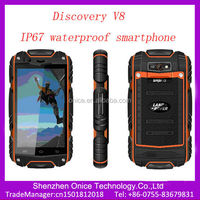 ip67 mobile phone waterproof Discovery V8 Android 4.2 MTK6572W IPS screen 512mb 4Gb rom dustproof Shockproof ip67 android