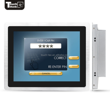 IP65 Wifi Dual Core 1.8GHZ Professional Industry 17 inch all in one touch screen pc With Rom 32 GB
