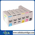 Best selling premium NO.761 remanufactured ink cartridge for HP Designjet T7100 printer