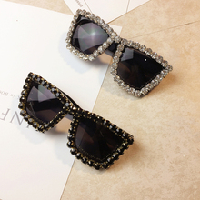 2019 Wholesale diamond fancy party star tourism photo crystal stone decoration sunglasses