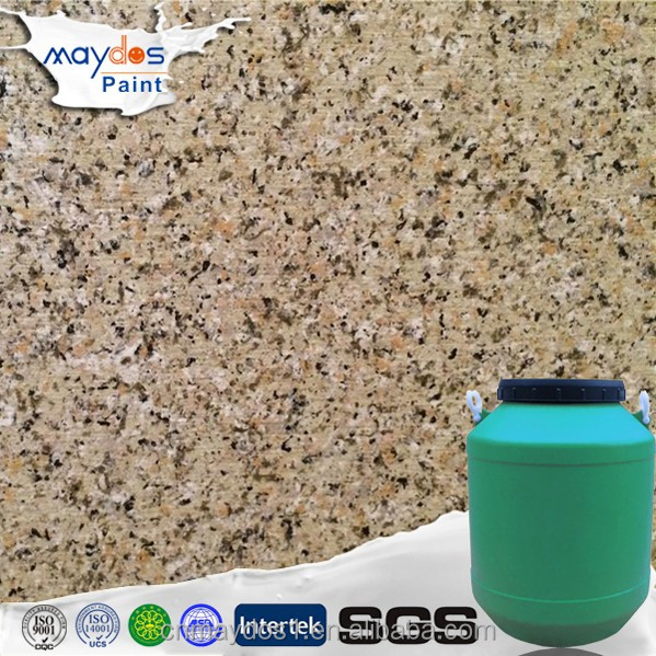 Low cost building material exterior Liquid granite wall powder coating