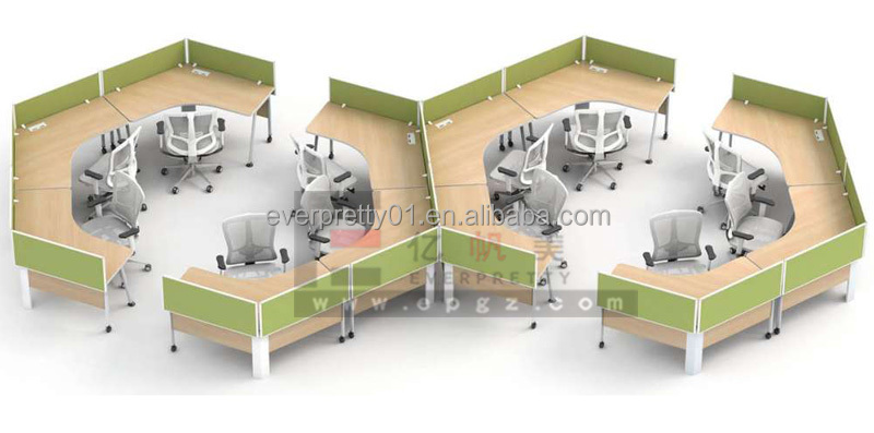 Simple Style Office Furniture Computer Workstation