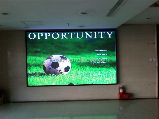 2500cd/m2 High Brightness P6 Indoor Multi Color Commercial Advertising LED Display Billboard