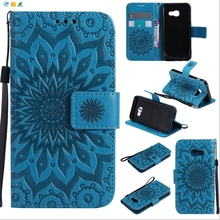 2017 new products on market wholesale leather case For sam s8 plus case