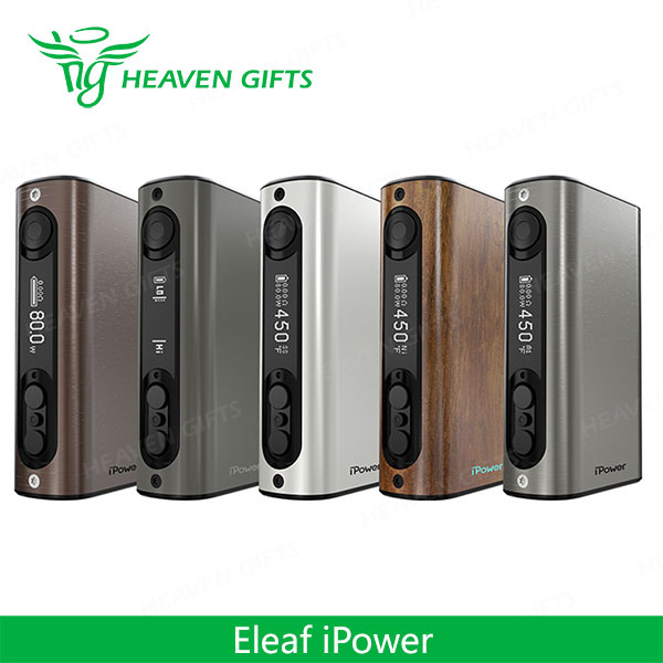 Heaven Gifts Wholesale 510 Spring connector 80W Eleaf iPower TC MOD Smoking Pipes