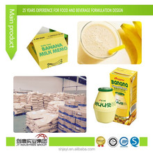 FOOD ADDITIVES/Emulsifier/Thickener/Emulsifiers and stabilizers for Milk based drink (BANANA MILK)(E471, E440)