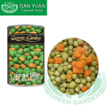 Hot sale canned vegetable mixed peas carrots potatoes
