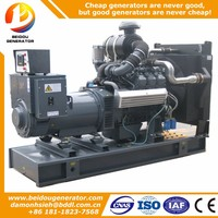 Manufacturer silent 100kw electric power man generator