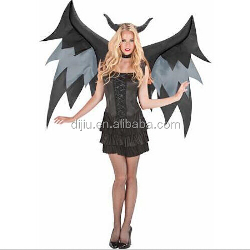 INFLATABLE DEMON WINGS ACCESSORY Halloween Costume Adult Men Women Airblown NEW