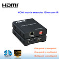 high quality HDMI matrix extender 120m IR control over IP
