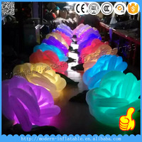 hot !!! led inflatable flower for wedding