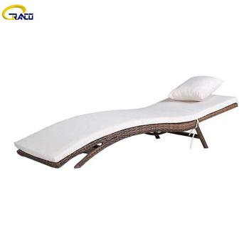 Factory direct outdoor rattan daybed