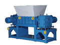 plastic/wood/paper/tire single/double shaft shredder machine