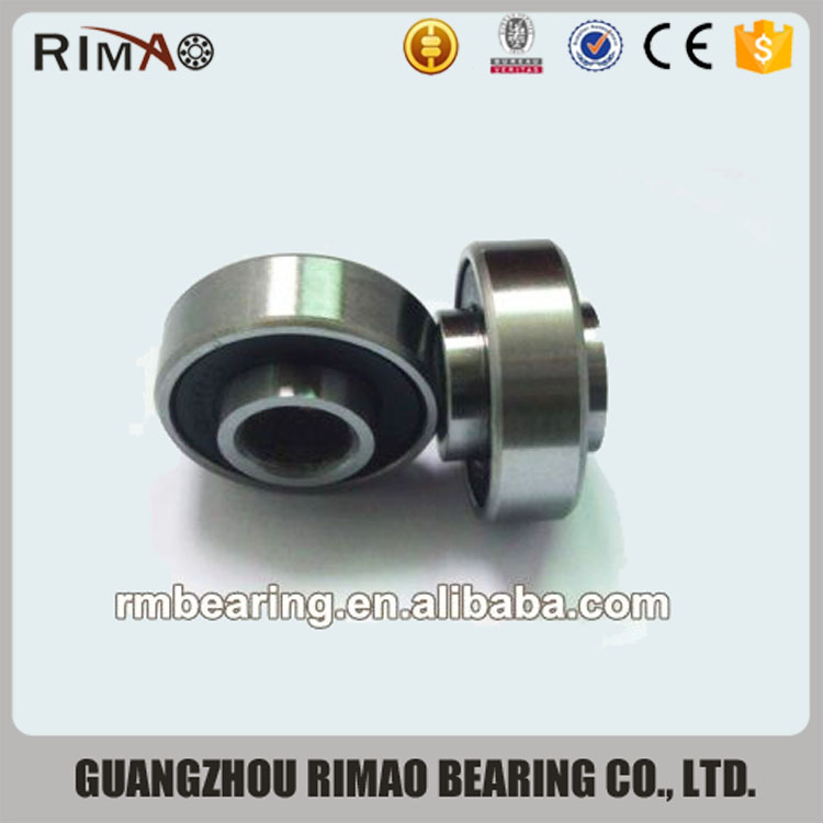 square groove Non-standard Bearing 626 bearing with groove on the edge