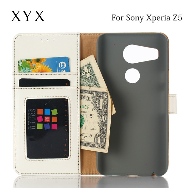 newest products for sony xperia leather z5 compact case , for sony xperia z5 leather case