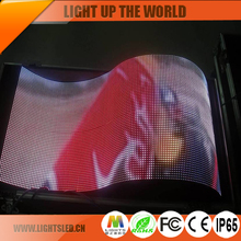 Indoor full color smd p5 P6 Flexible LED Display Screen Module for sale
