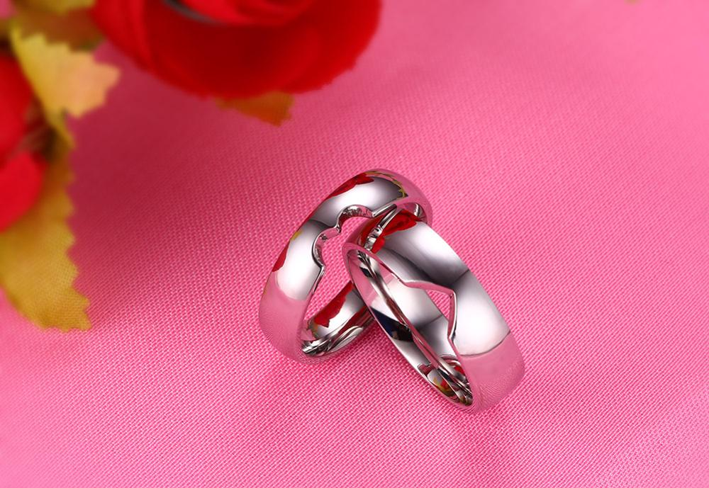 Spot wholesale marketing, love puzzles lovers ring, 6 mm lovers ring wholesale YSS681