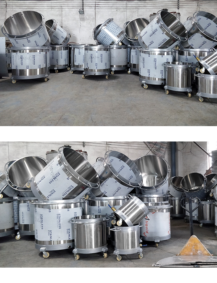 Hot sale Chemical Liquid Mixing cylinder and stainless steel Mixing Tank