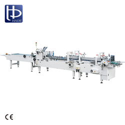 HADE Paper Bag Cnc Auto Edge Folding Gluing Machine With Good Reputation