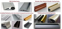 Factory Direct Sale Since 1997 Over 40 Areas aluminum profile accessory, aluminum extrusion profile for window