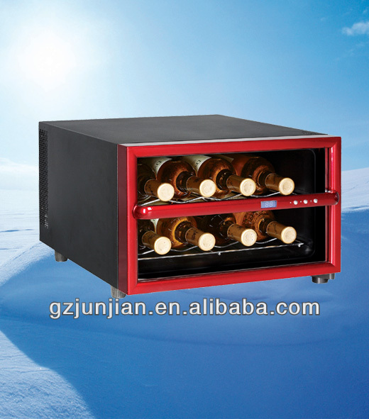 JC-23A.Thermoelectric Wine Cellar with 8 Bottles/Mini Fridge display/mini wine bottles wholesale ,