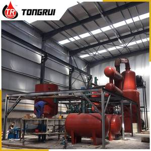 DISTILLATION EQUIPMENT TO REFINE USED LUBRICANT OIL