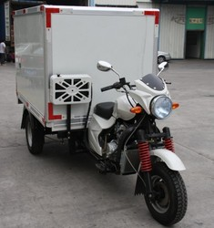 Newest design 250cc chinese supplier truck cargo tricycle