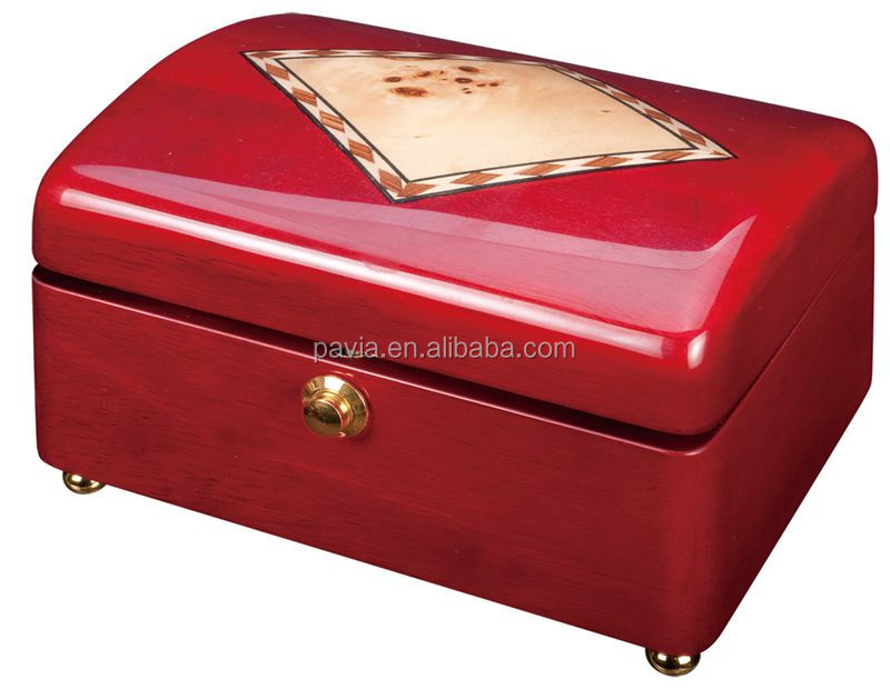 PM109A wholesale high lacquer ballerina music jewelry box hand made good gift