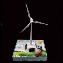 Hot sale scale model solar wind turbine ABS solar <strong>windmill</strong> for gifts