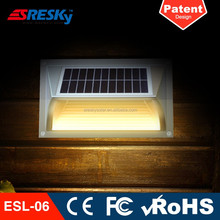 Outdoor Elegant Energy Saving Led Solar Wall Lamp Light