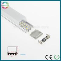 Ultra thin led track aluminum with high Cover,large area lighting led aluminum profile
