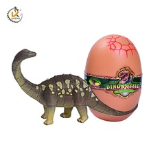 Hot Selling Toys 3D Small Diy Dinosaur Model Puzzle in Egg for Kids