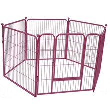 Hot Sale For Large Dogs Metal Unique Iron Welded Wire Dog Kennels