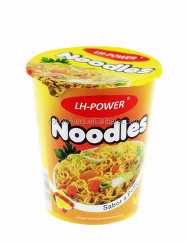 tasty instant cup noodle foods