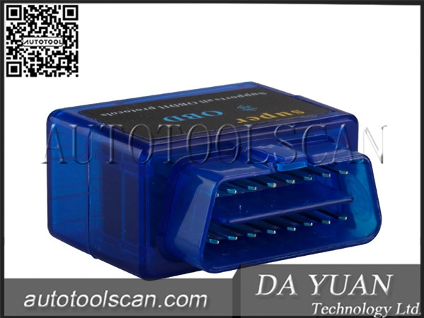 V1.5 Mini ELM327 ELM 327 OBD2 Bluetooth Interface Auto OBDII Diagnostic Scanner with One Year ELM020