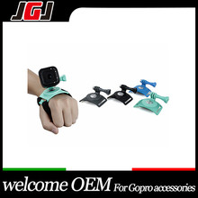 JGJ OEM Wrist Strap Band Mount for GoPro Hero 4 session 360 Degree Rotation for SJ4000 SJ5000 Xiaomi