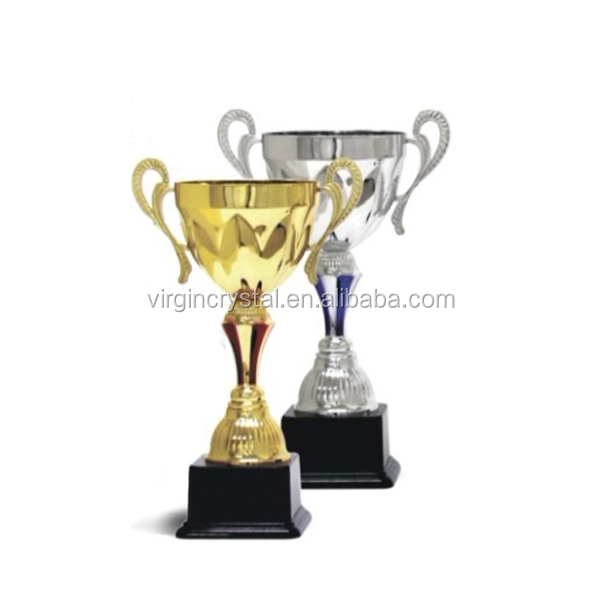 Hot gold silver metal candle cup for sports event