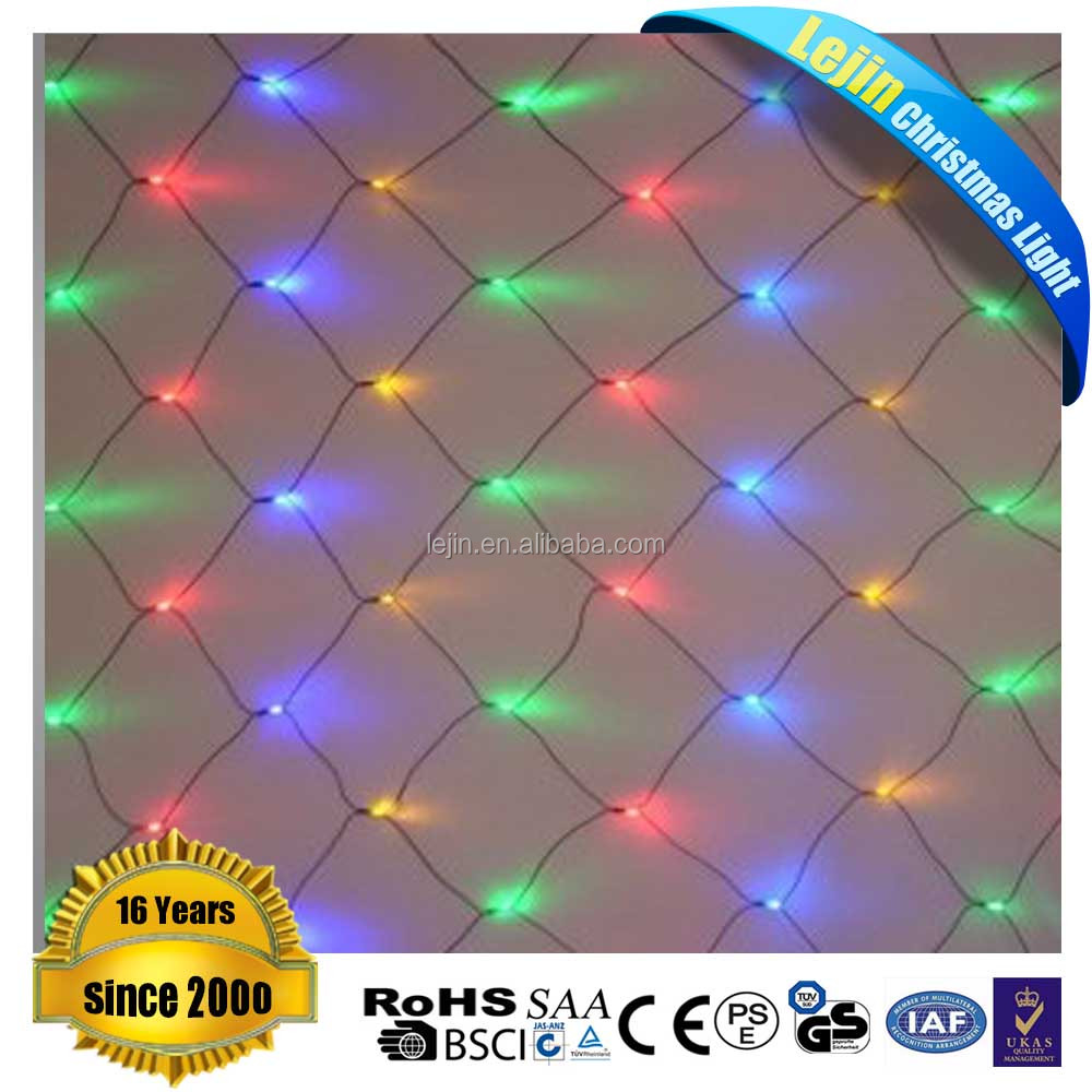 decoration christmas programmable led net lights