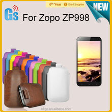 "Vertical Style Universal Leather Pouch Phone Cases For ZOPO ZP998(MTK6592 5.5"")"