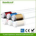 Wide view angle milky white led tube AC100~240V g13 8ft 10w t8 led zoo tube light with CE,ROSH,IEC