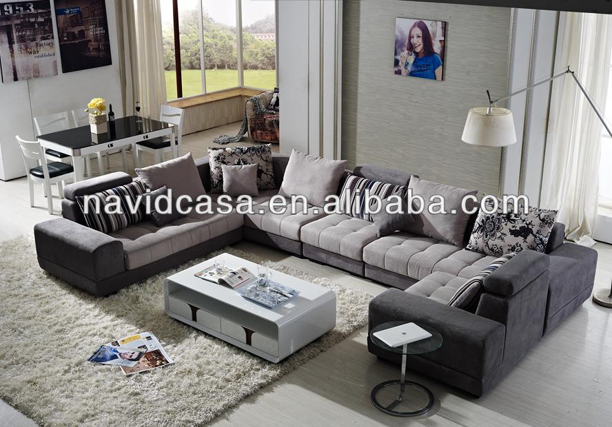 new design wooden fabric modern new sofa styles 2013