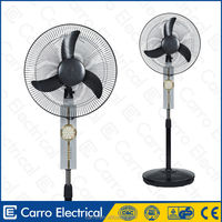 The lastest 12 volt dc rechargeable battery stand fan industrial stand fan
